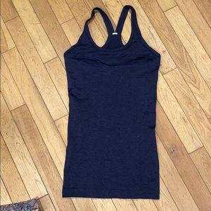 Lululemon built in bra tank top shirt blouse